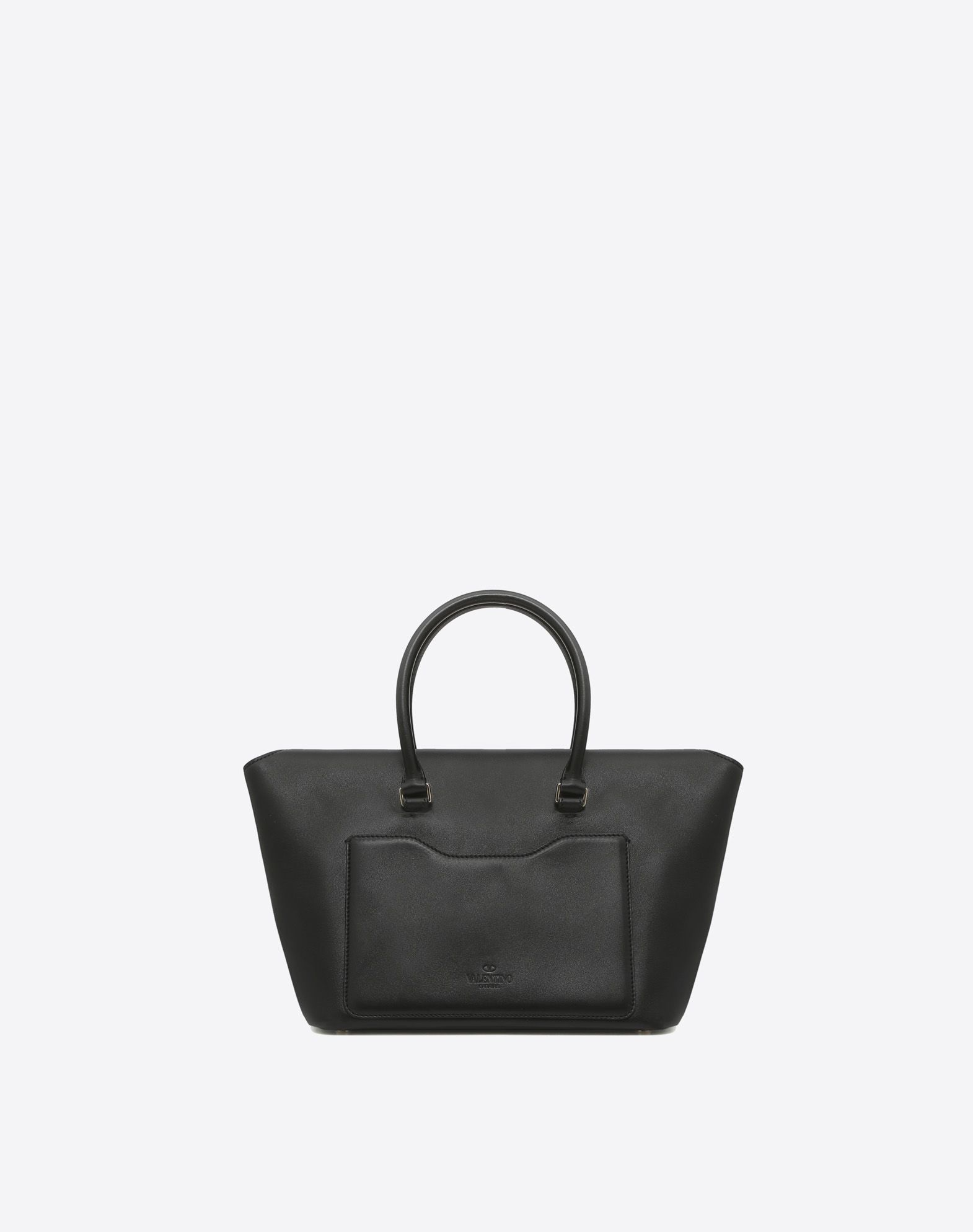 VALENTINO GARAVANI Demilune Double Handle Bag HANDBAG D d