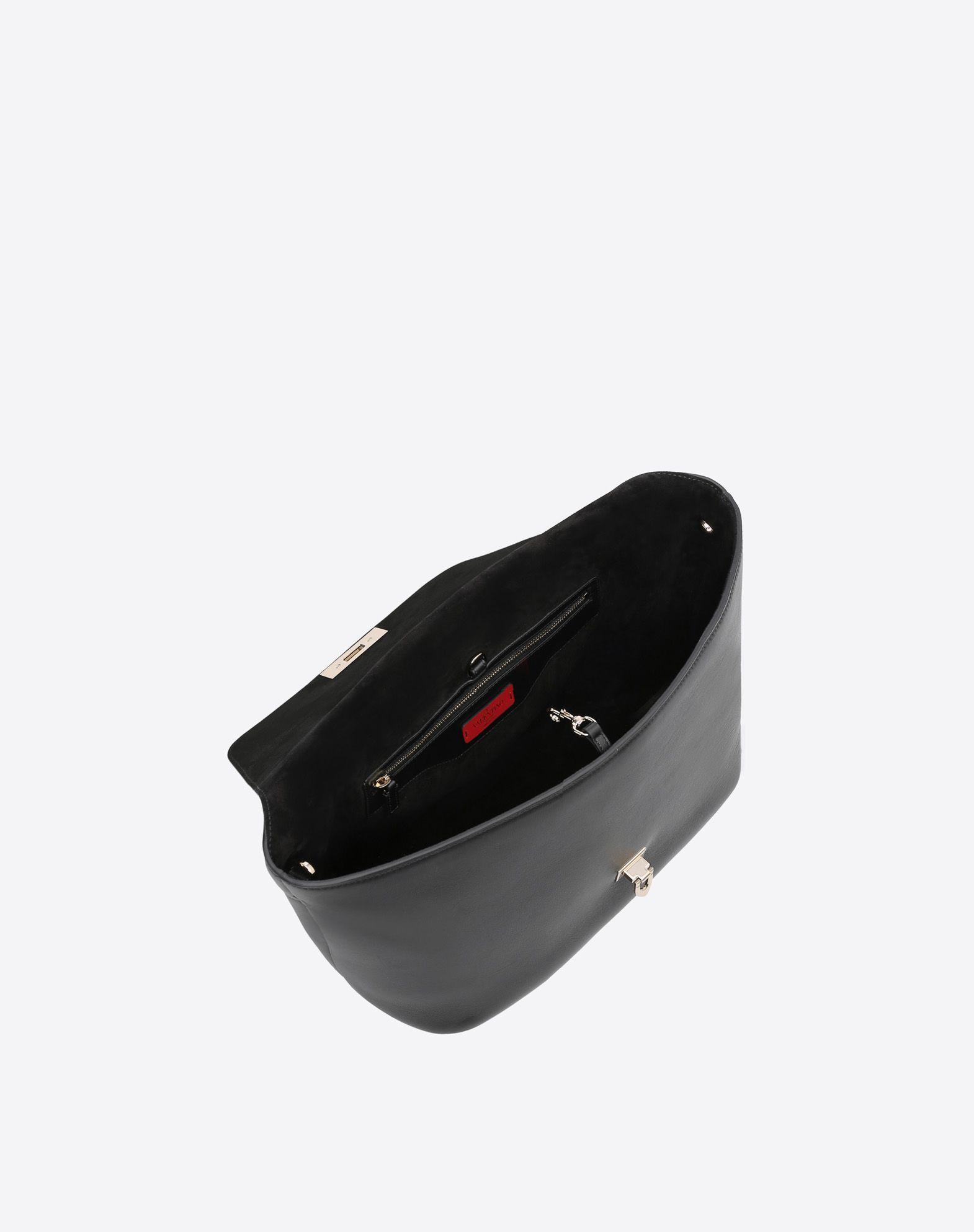 VALENTINO GARAVANI Demilune Double Handle Bag HANDBAG D e
