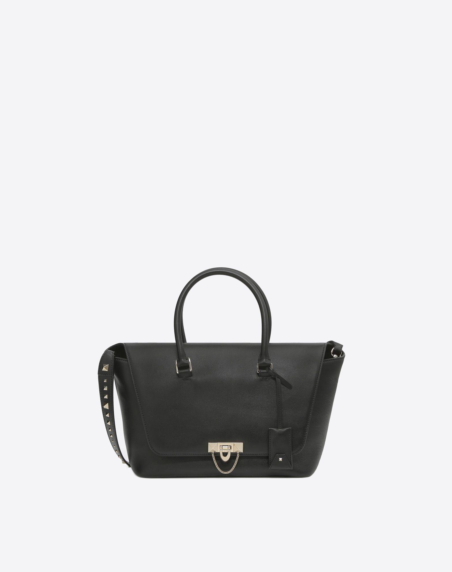 VALENTINO GARAVANI Demilune Double Handle Bag HANDBAG D f