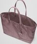 BOTTEGA VENETA MEDIUM TOTE BAG IN GLICINE INTRECCIOLUSION Top Handle Bag Woman dp