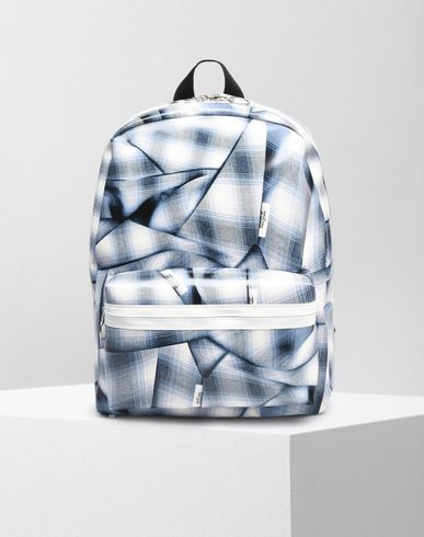 MM6 by MAISON MARGIELA Tartan print backpack Backpack D f