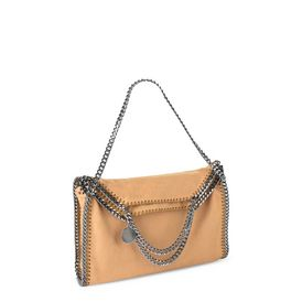 Honey Falabella Shaggy Deer Fold Over Tote