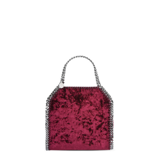 Red Velvet Falabella Mini Tote