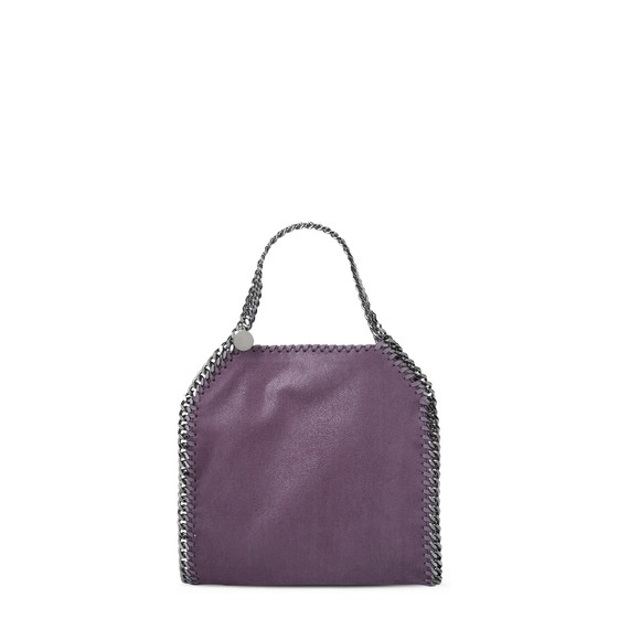 Falabella Mini Tote in Shaggy Deer Color Ametista