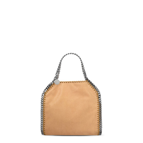 Falabella Mini Tote in Shaggy Deer Color Miele
