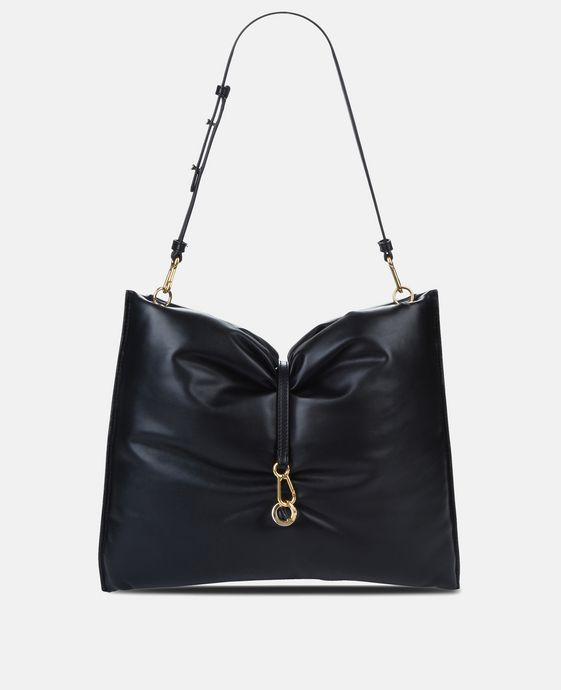 Black Bubble Hobo Bag