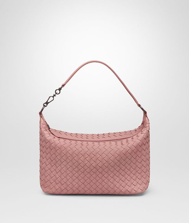 BOTTEGA VENETA SMALL SHOULDER BAG IN BOUDOIR INTRECCIATO NAPPA Shoulder or hobo bag Woman fp