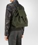 BOTTEGA VENETA BACKPACK IN MOSS CERVO Messenger Bag Man ap