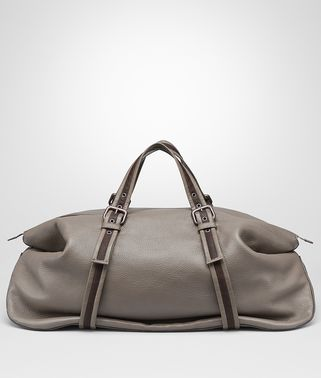 DUFFEL BAG IN STEEL CERVO