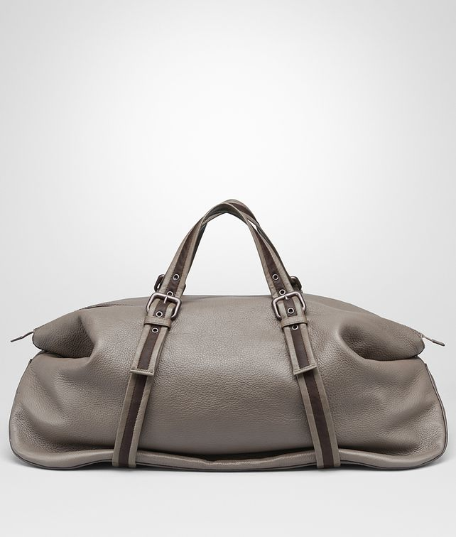 BOTTEGA VENETA DUFFEL BAG IN STEEL CERVO Luggage E fp