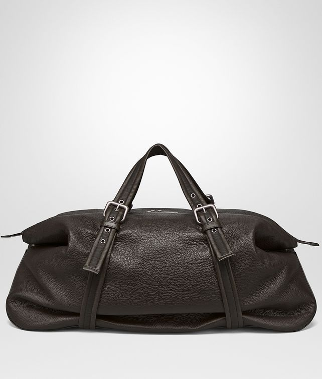 628e953a99 BOTTEGA VENETA DUFFEL BAG IN ESPRESSO CERVO Travel Bag E fp