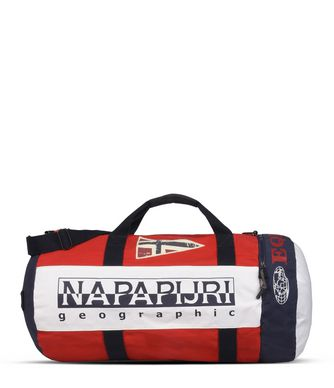 NAPAPIJRI EQUATOR  TRAVEL BAG,RED