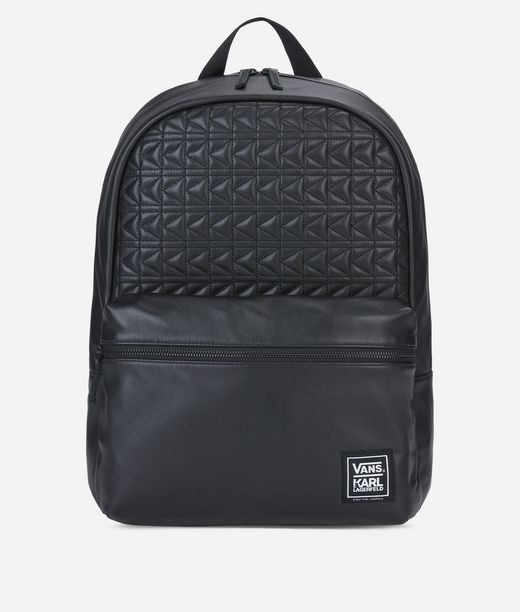 KARL LAGERFELD Vans x KARL LAGERFELD Leather Backpack 12_f