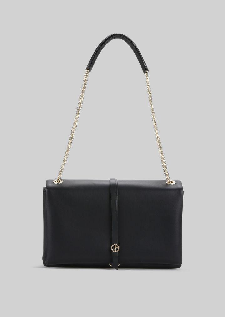 07aff0473ee4 Кожаная сумка через плечо | Женский | Giorgio Armani