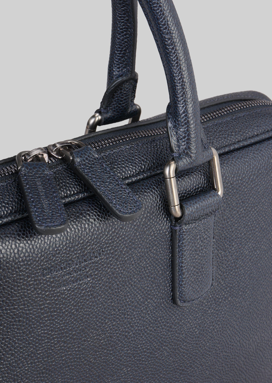 GIORGIO ARMANI LEATHER BRIEFCASE WITH HANDLE Briefcase U b