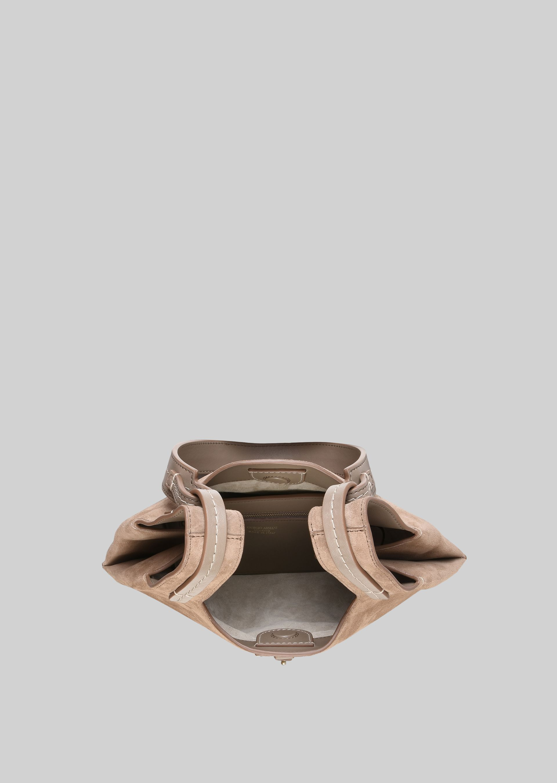 GIORGIO ARMANI SHOULDER BAG IN SUEDE LEATHER Shoulder Bag D a