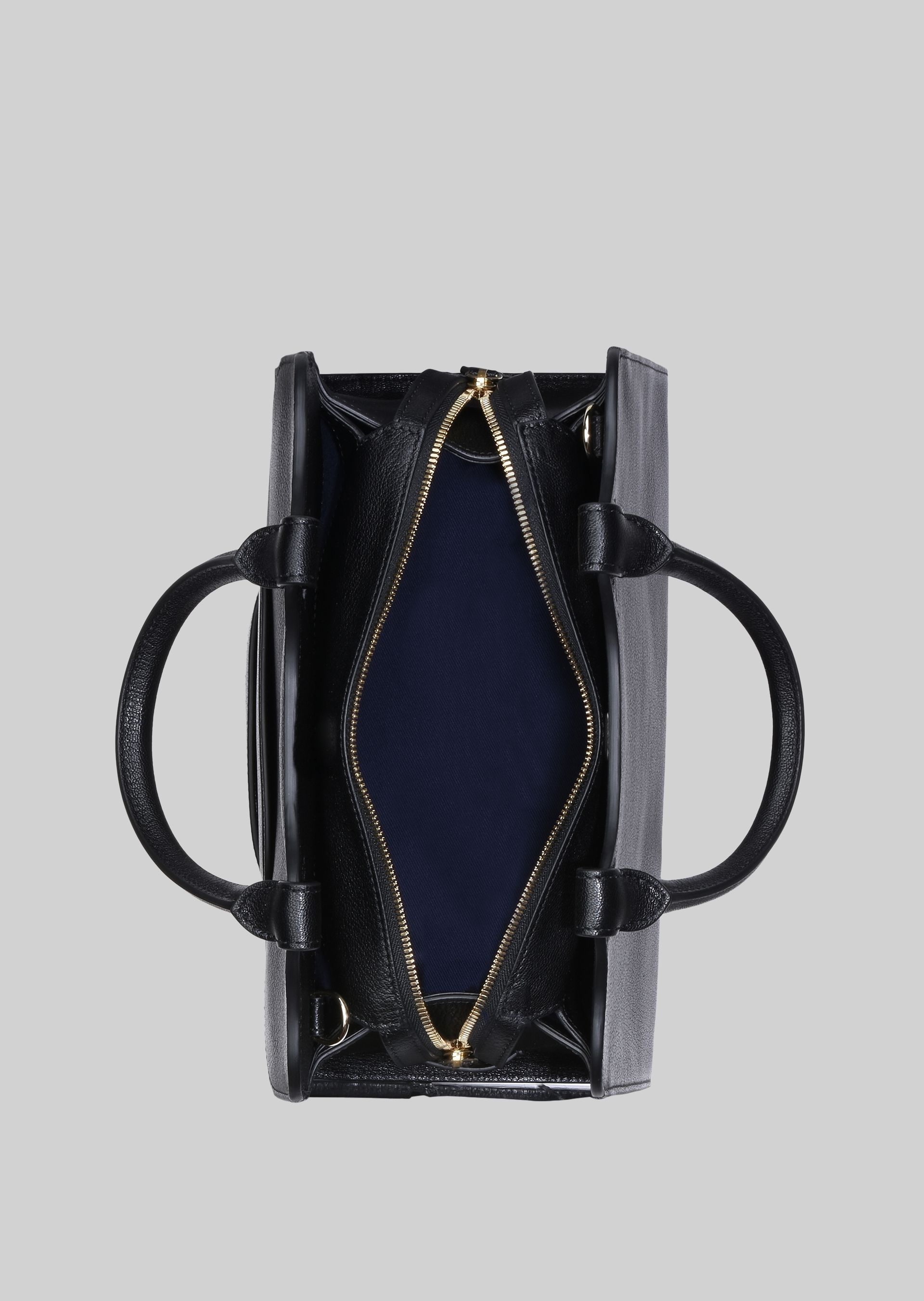 GIORGIO ARMANI TOP HANDLE BAG IN LEATHER Top Handle D a