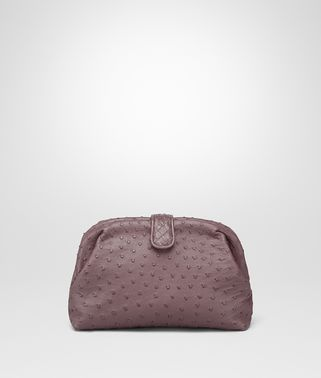 POCHETTE THE LAUREN 1980 IN STRUZZO GLICINE