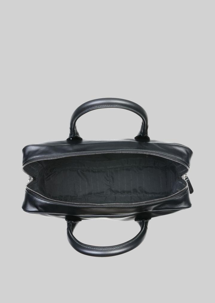 GIORGIO ARMANI ブリーフケース レザー製 ブリーフケース メンズ a