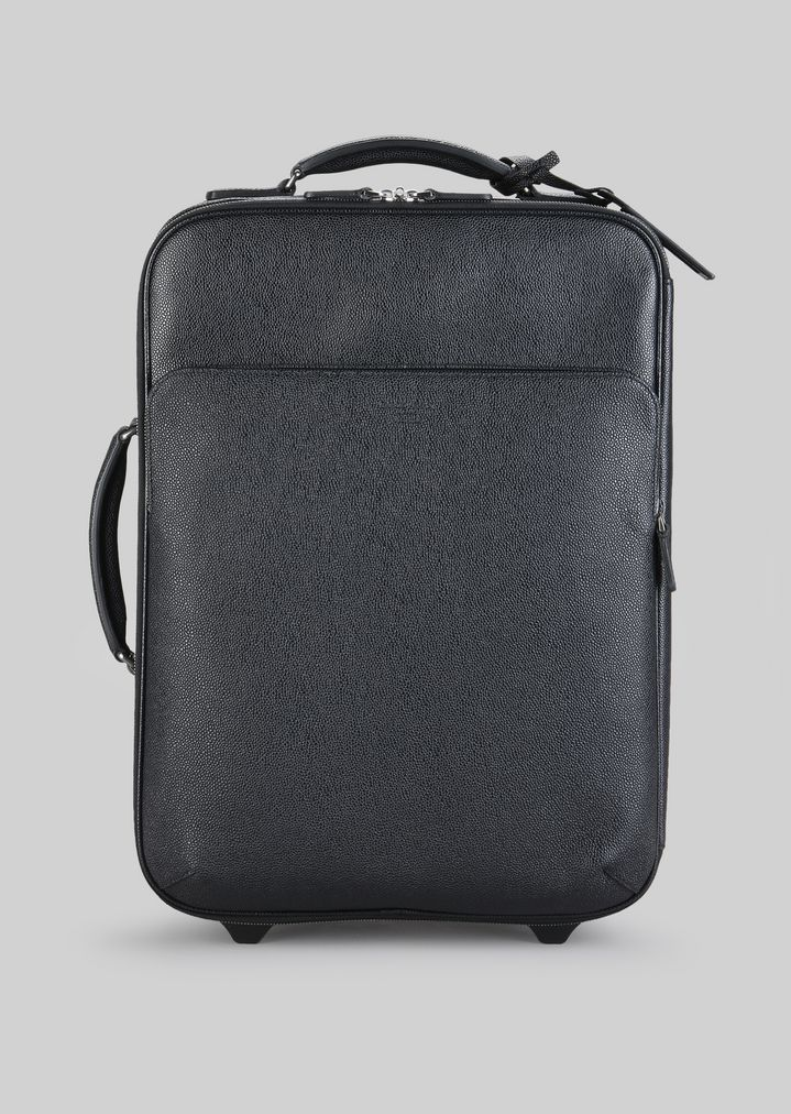23366285e2 LEATHER TROLLEY BAG