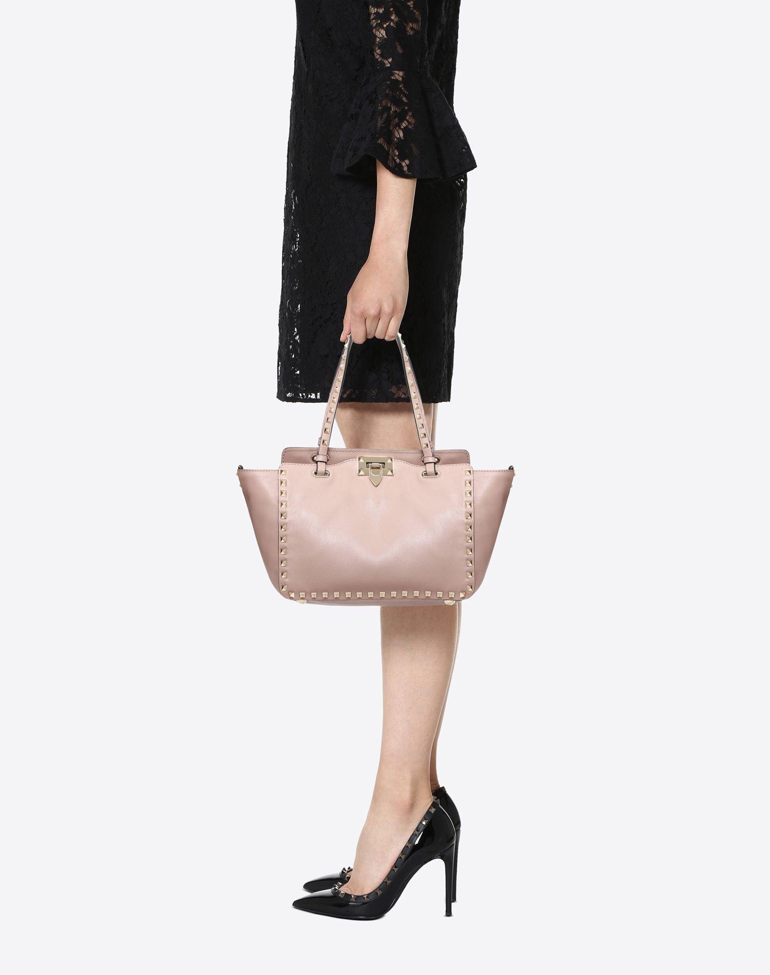 Rockstud Small Tote Bag Valentino bE6OZb0s