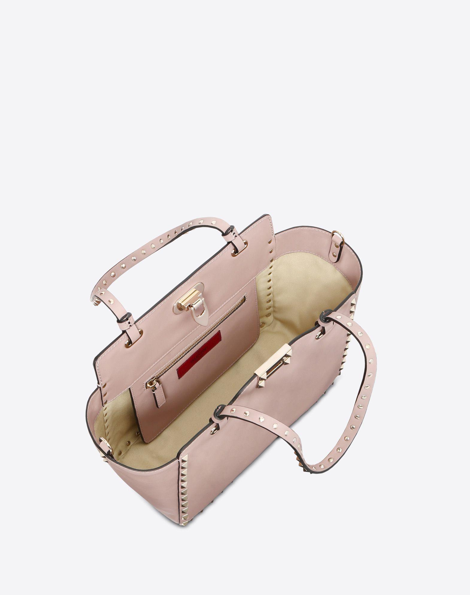 VALENTINO GARAVANI Rockstud Small Bag Tote D e