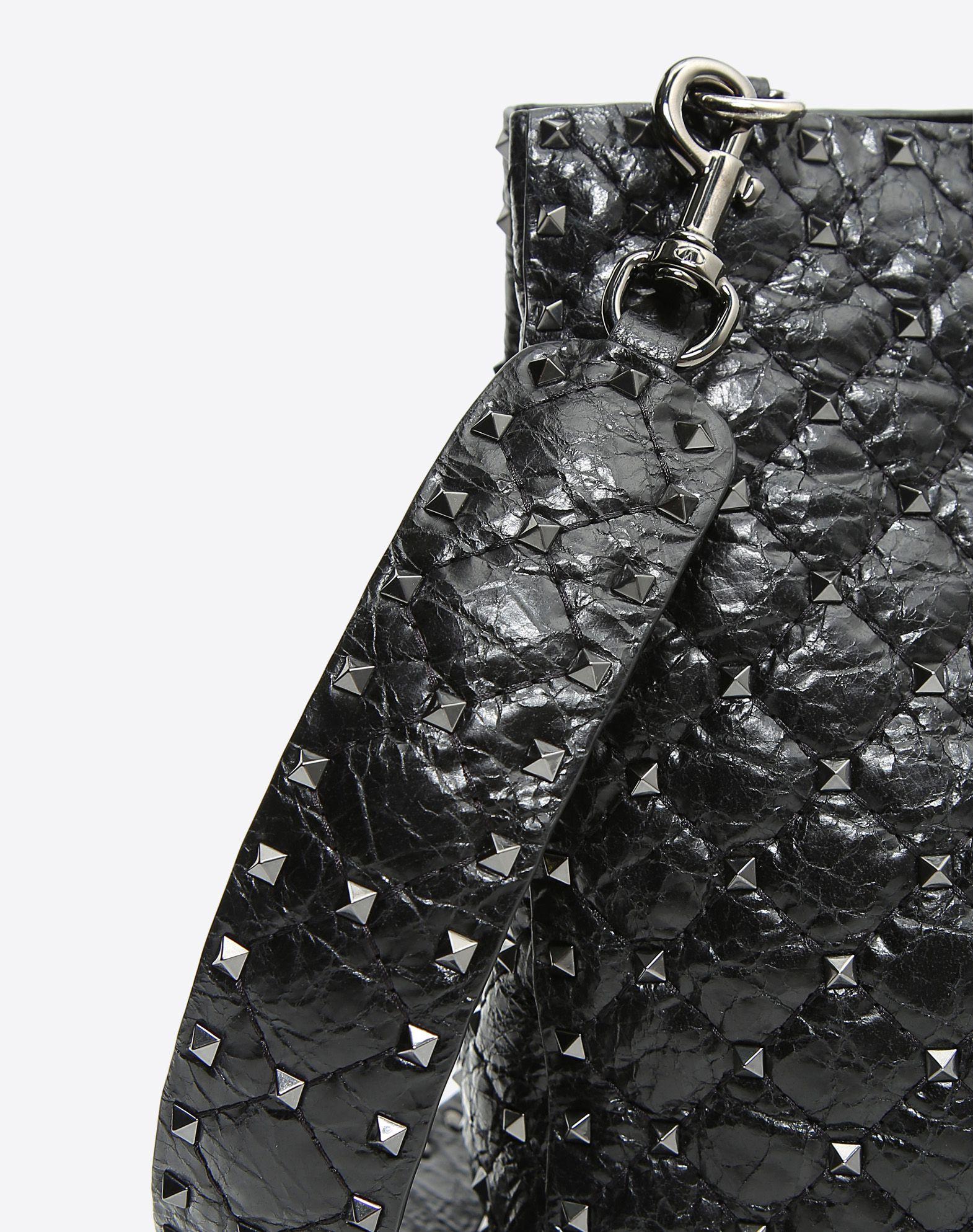 VALENTINO GARAVANI Rockstud Spike Tote Bag Shoulder bag D b