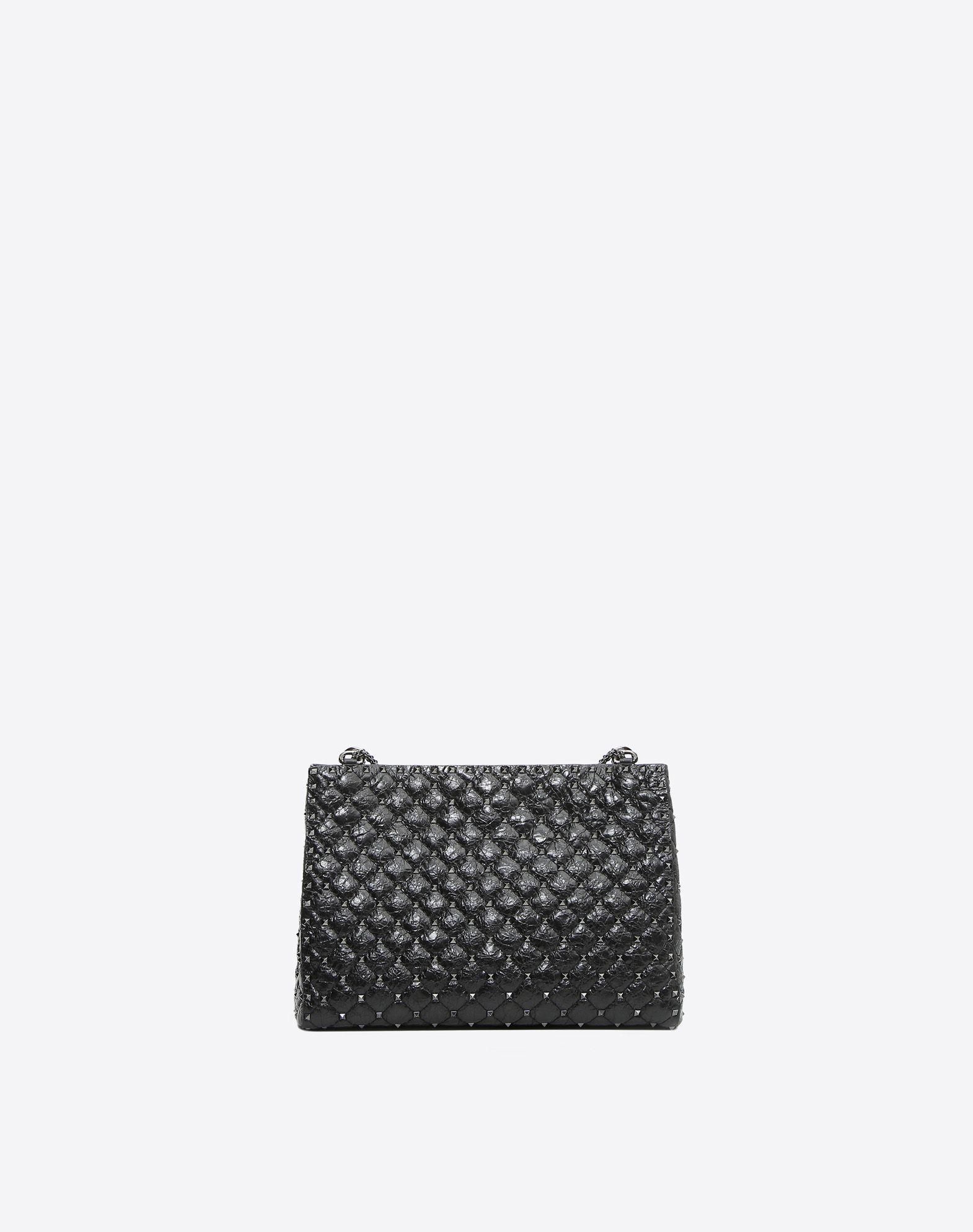 VALENTINO GARAVANI Rockstud Spike Tote Bag Shoulder bag D d