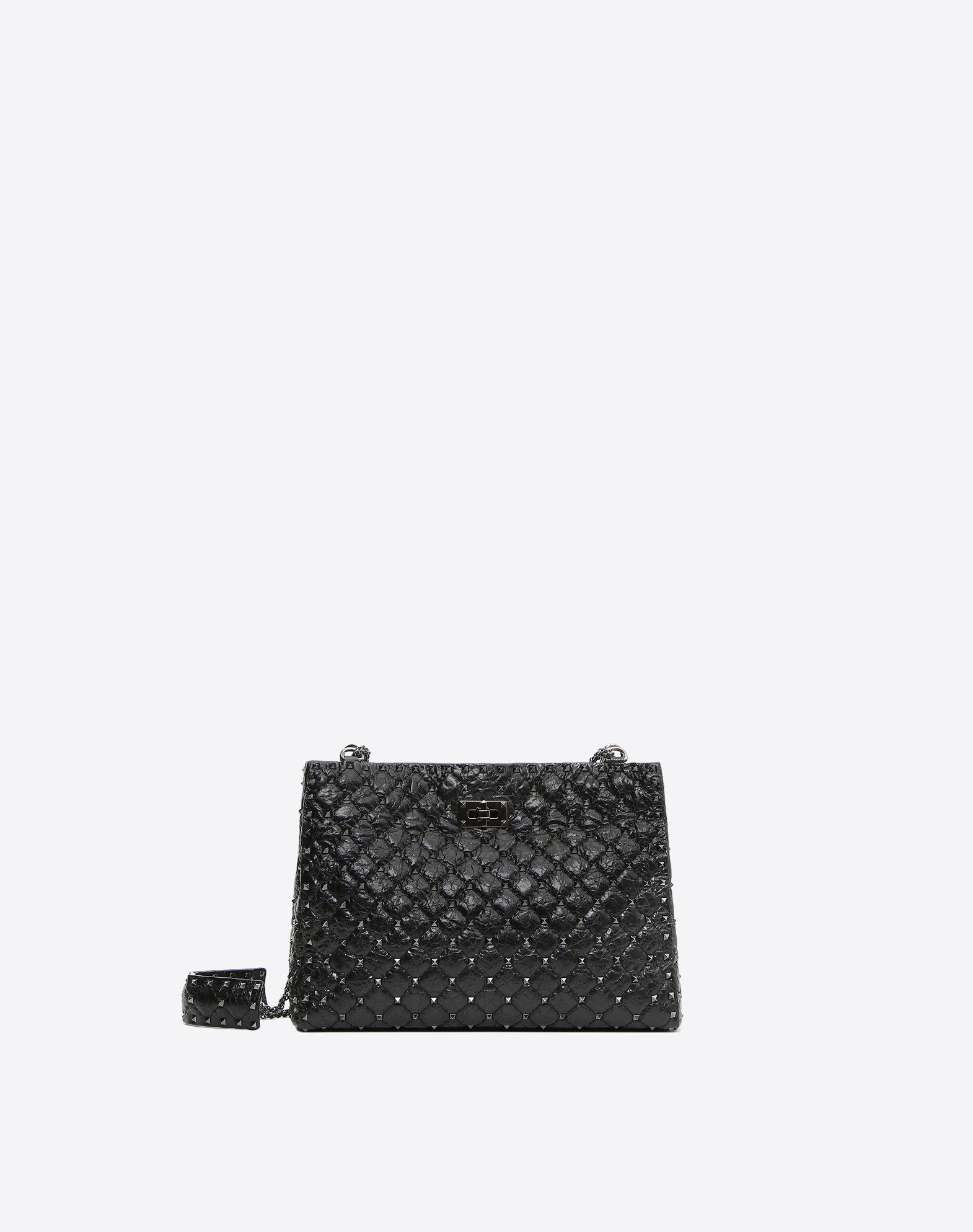VALENTINO GARAVANI Rockstud Spike Tote Bag Shoulder bag D f
