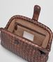BOTTEGA VENETA DARK COPPER INTRECCIATO NAPPA THE LAUREN 1980 CLUTCH Clutch D dp