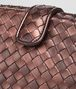 BOTTEGA VENETA DARK COPPER INTRECCIATO NAPPA THE LAUREN 1980 CLUTCH Clutch D ep
