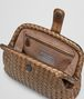 BOTTEGA VENETA ORO SCURO INTRECCIATO NAPPA THE LAUREN 1980 CLUTCH Clutch D dp