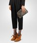 BOTTEGA VENETA DARK BRONZE INTRECCIATO NAPPA THE LAUREN 1980 CLUTCH Clutch D ap