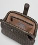 BOTTEGA VENETA DARK BRONZE INTRECCIATO NAPPA THE LAUREN 1980 CLUTCH Clutch Woman dp