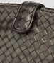BOTTEGA VENETA DARK BRONZE INTRECCIATO NAPPA THE LAUREN 1980 CLUTCH Clutch D ep