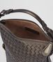 BOTTEGA VENETA DARK BRONZE INTRECCIATO NAPPA SHOULDER BAG Shoulder or hobo bag D dp