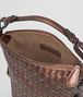 BOTTEGA VENETA DARK COPPER INTRECCIATO NAPPA SHOULDER BAG Shoulder or hobo bag D dp