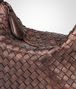 BOTTEGA VENETA DARK COPPER INTRECCIATO NAPPA SHOULDER BAG Shoulder or hobo bag D ep
