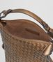BOTTEGA VENETA ORO SCURO INTRECCIATO NAPPA SHOULDER BAG Shoulder or hobo bag D dp
