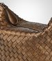 BOTTEGA VENETA ORO SCURO INTRECCIATO NAPPA SHOULDER BAG Shoulder or hobo bag D ep