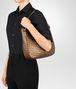 BOTTEGA VENETA ORO SCURO INTRECCIATO NAPPA SMALL LOOP BAG Shoulder or hobo bag D ap