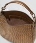 BOTTEGA VENETA ORO SCURO INTRECCIATO NAPPA SMALL LOOP BAG Shoulder Bag Woman dp