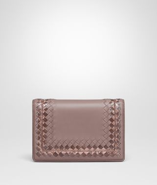 BORSA MONTEBELLO MEDIA IN NAPPA DESERT ROSE