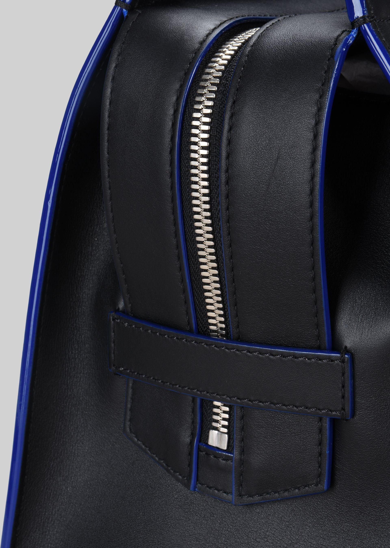 GIORGIO ARMANI TOP HANDLE BAG IN VEGETABLE TANNED CALFSKIN Top Handle D b