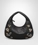 BOTTEGA VENETA MEDIUM VENETA IN INTRECCIATO NAPPA NERO WITH Kaleidoscope DETAILS Shoulder or hobo bag D fp