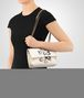 BOTTEGA VENETA BABY OLIMPIA IN INTRECCIATO NAPPA MIST WITH Kaleidoscope DETAILS Shoulder Bag Woman lp