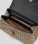 BOTTEGA VENETA ORO BRUCIATO INTRECCIATO KNIT OLIMPIA KNOT BAG Shoulder or hobo bag D dp