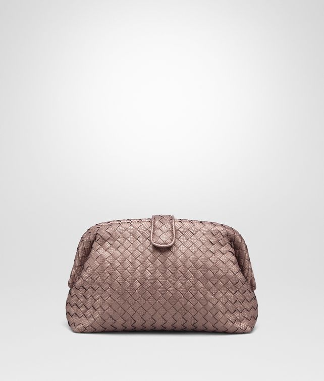 BOTTEGA VENETA DESERT ROSE INTRECCIATO KARUNG THE LAUREN 1980 CLUTCH Clutch D fp