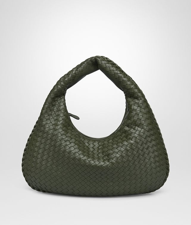 BOTTEGA VENETA MOSS INTRECCIATO NAPPA MEDIUM VENETA BAG Shoulder or hobo bag D fp