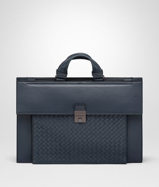 DENIM NAPPA BRIEFCASE